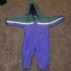 NEW Toddler Patagonia snow suit